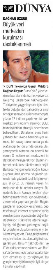 Tech Anadolu Dağhan Uzgur