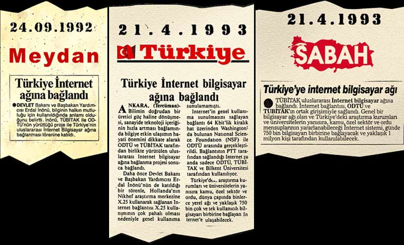 Türkiye'de ilk internet